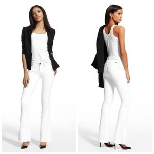 NWT DL1961Joy Flare High Rise Jeans Milk White 26